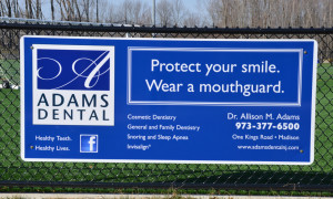 Adams Dental field sign