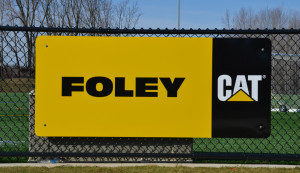 Foley field sign